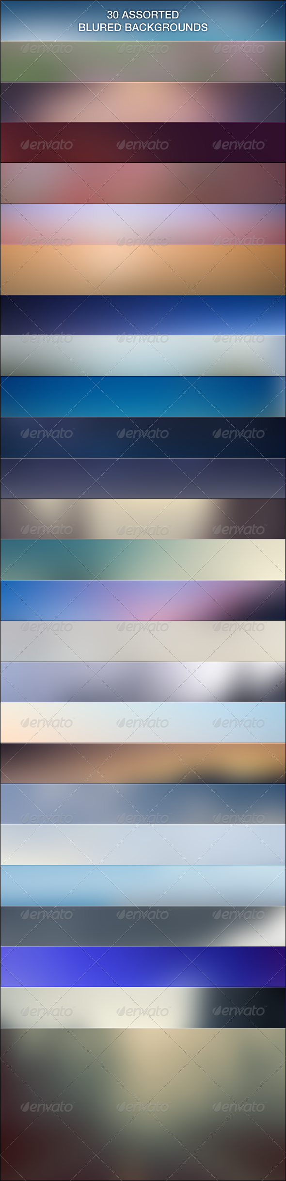 30 backgrounds blur