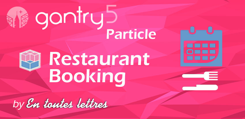 Particule - Restaurant Booking
