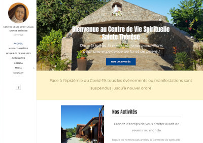 Site centre-sainte-therese-guyane.fr