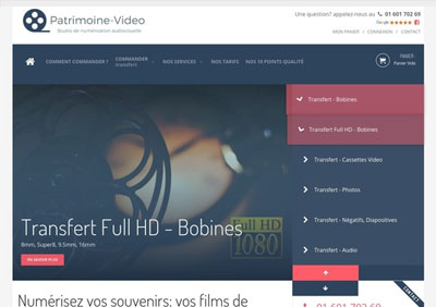 Site Patrimoine Video